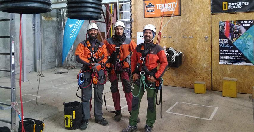 Kaya Safety İple Erişim Takımı Romanya Transilvanya Alplerindeki Solo Eğitim Alanında İple Erişim Yarışmasına Katıldı.