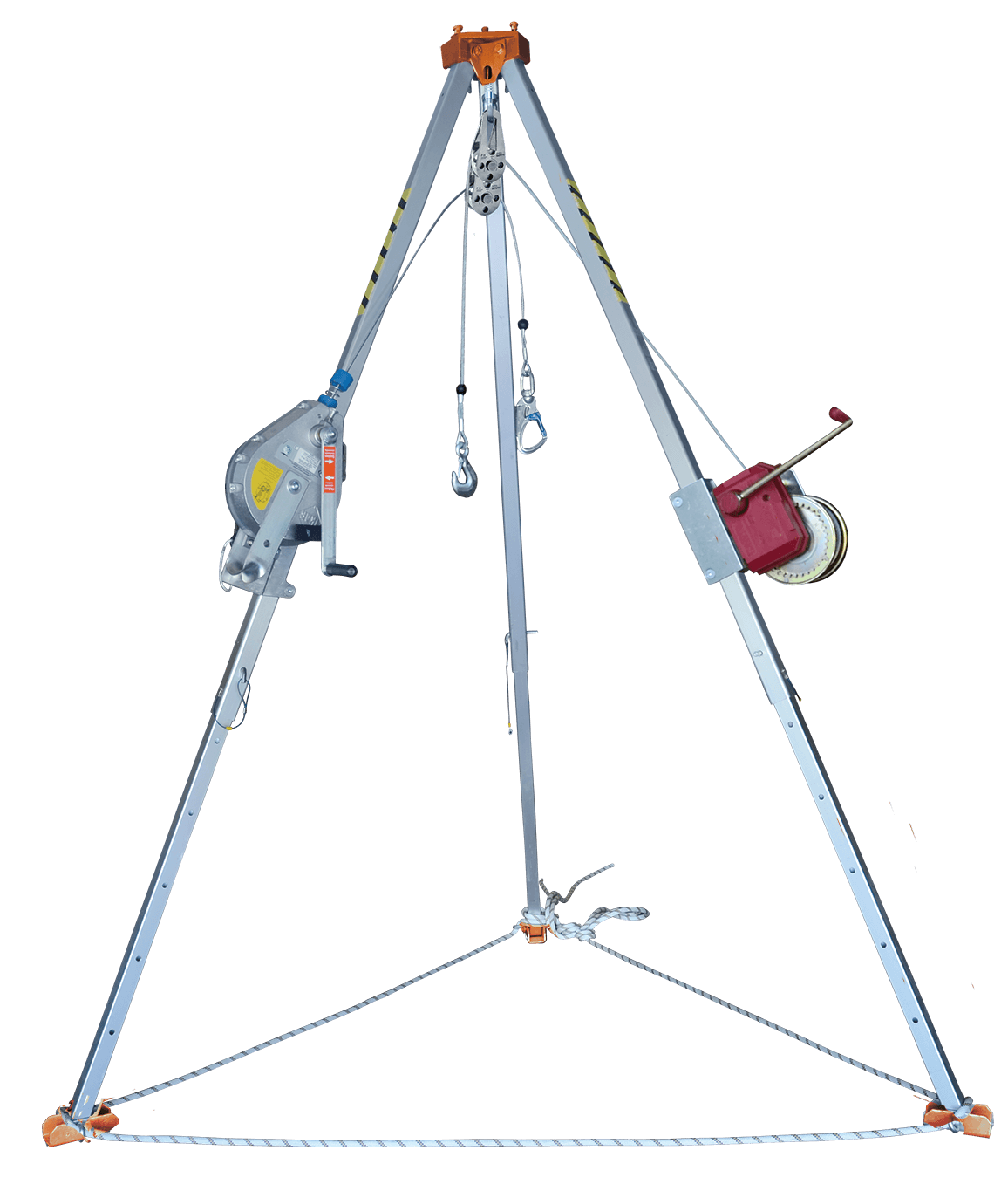 T-150 A TRIPOD (WITH HRA AND ALKO WINCH)
