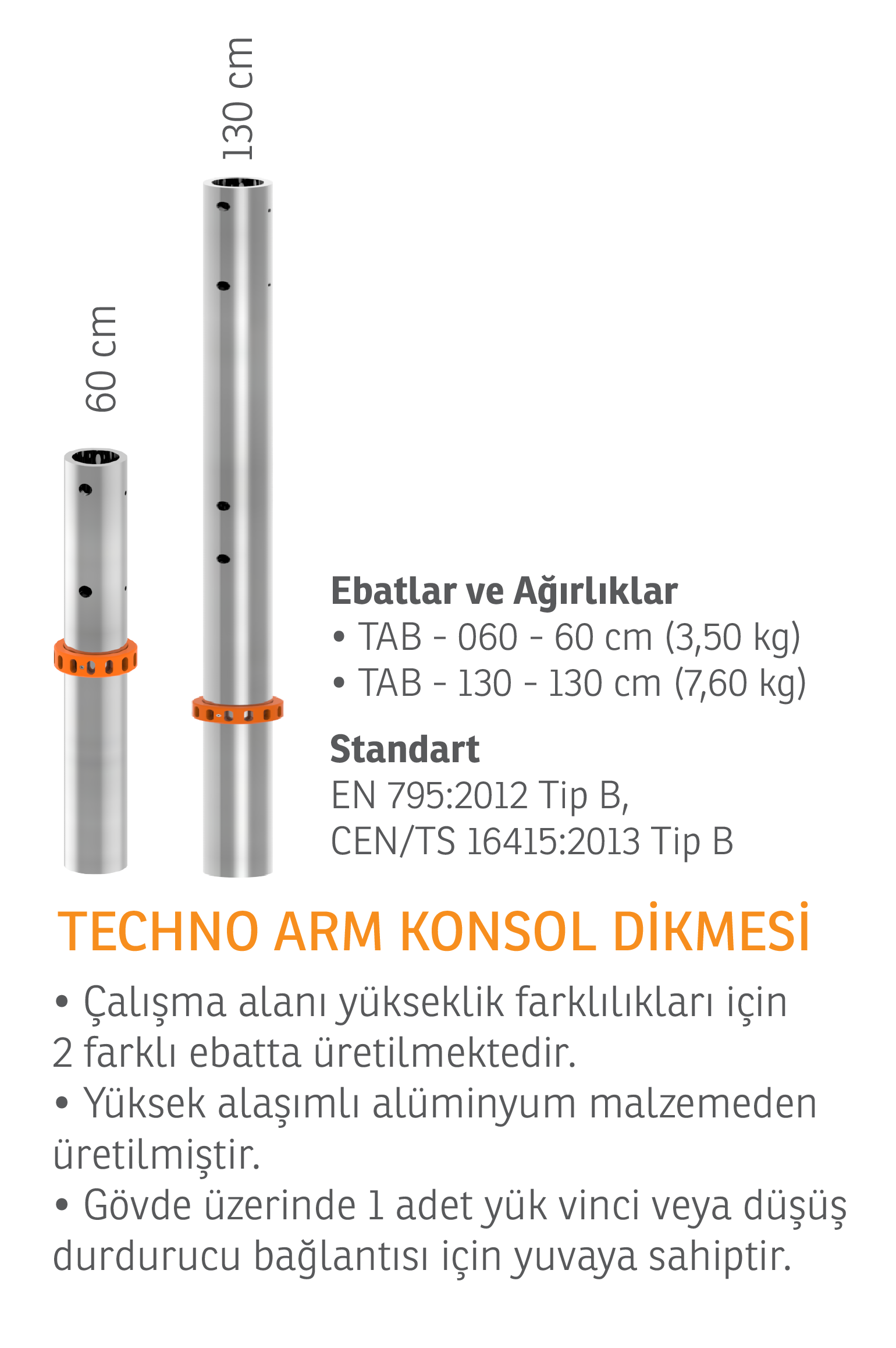 TECHNO ARM MOBİL AYAK SET